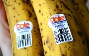 banan samolepka