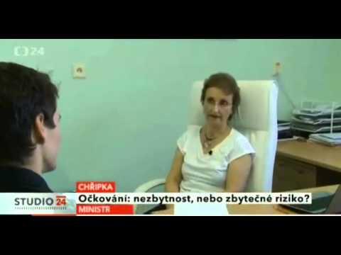 Česká televize – MUDr. Eleková o očkovaní