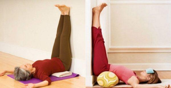 Jak vyřešit problémy skřečovými žílami za 5 minut. Stačí si jen každý den lehnout a opřít nohy o zeď