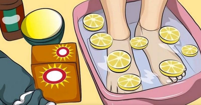 Detoxikační koupel chodidel: Jak zbavit tělo toxinů a získat energii
